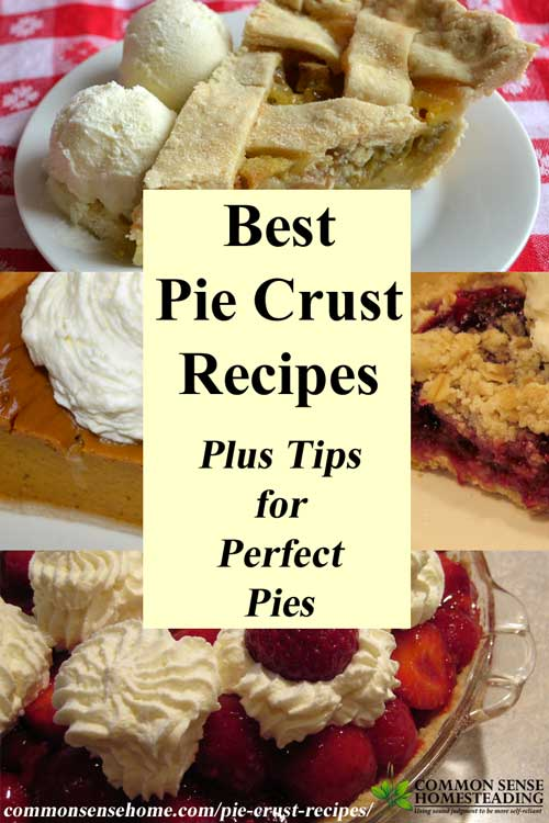 The best pie crust recipes start with the best ingredients, handled with care. Check out my favorite pie crust recipes, plus tips for a perfect crust.