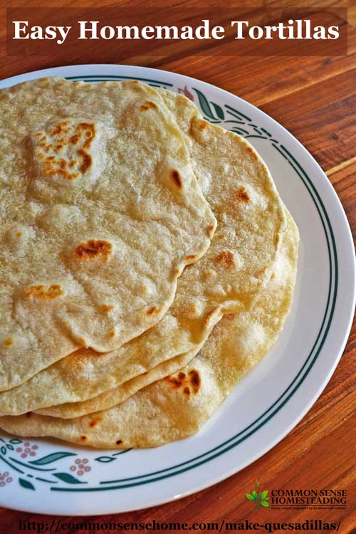It's easy to make quesadillas at home! Team up your choice of fillings - savory or sweet - to make a plate of hot tortilla wrapped yumminess!
