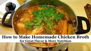 How To Make Homemade Chicken Broth For Great Flavor More