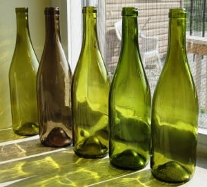 dandelion wine bottles