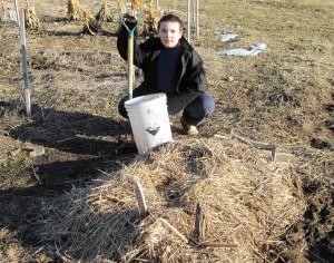 cub with parsnip bucket