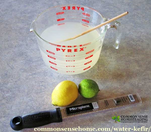 how to add minerals to water kefir