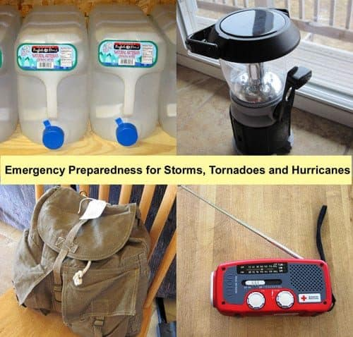 Emergency preparedness items