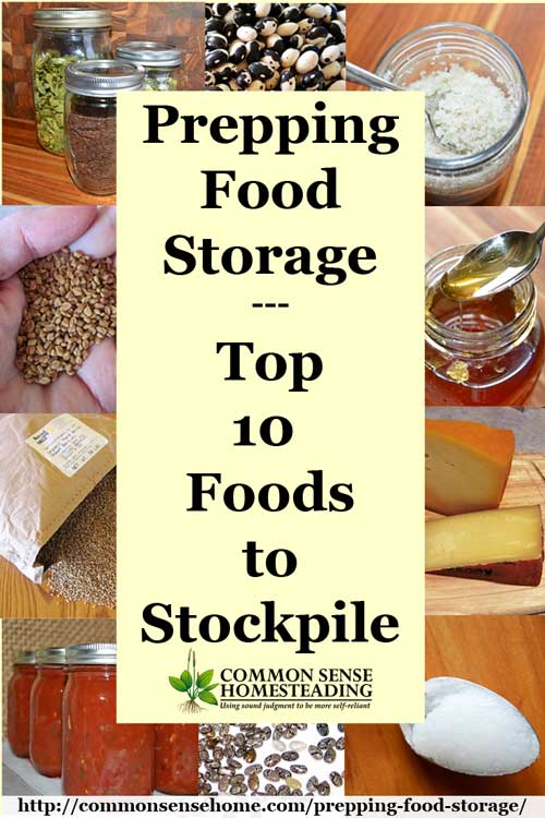 Prepping food storage top 10 foods to stockpile prepping food storage beyond freeze dried meals foods that store without electricity to provide forumfinder Choice Image