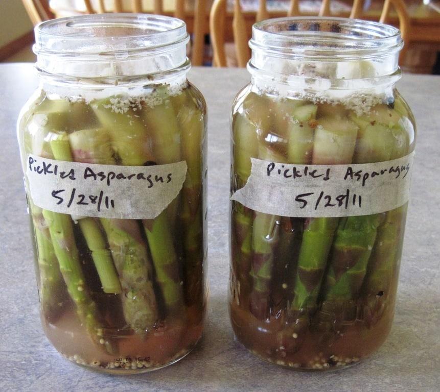 Pickled Asparagus Recipe — Dishmaps