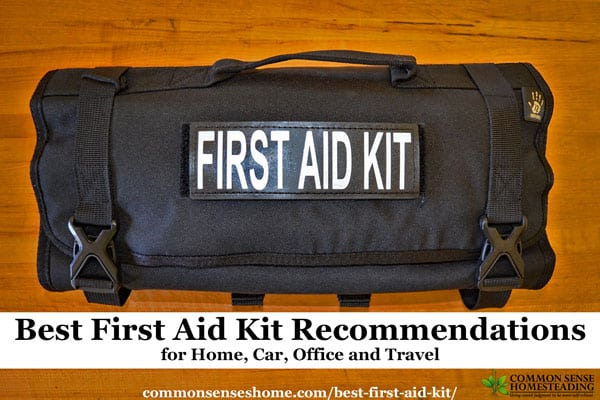 Our recommendations for best first aid kit for different skill and preparedness levels. Includes tips for first aid kit use and items missed in many kits.