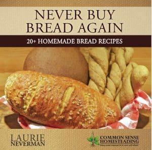 Never Buy Bread Bread Again Book Coming Soon!