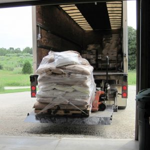 pallet unloading