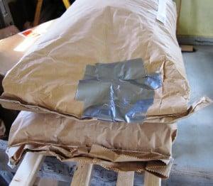 taped grain bag 2