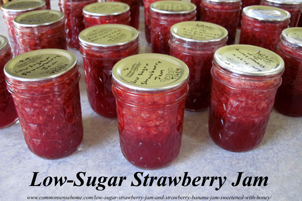 low-sugar-strawberry-jam
