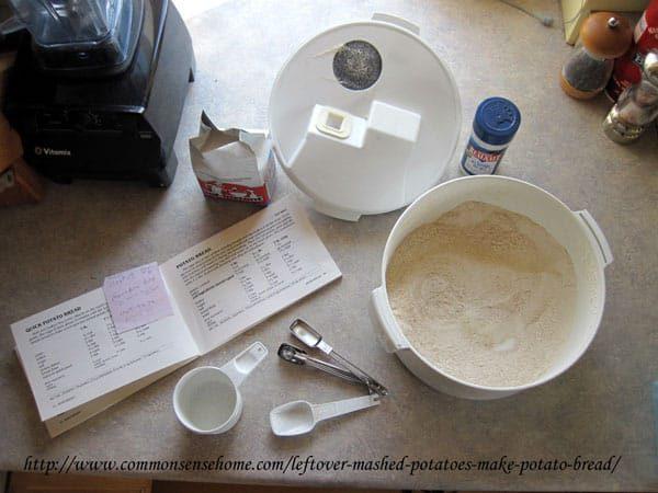 potato bread ingredients