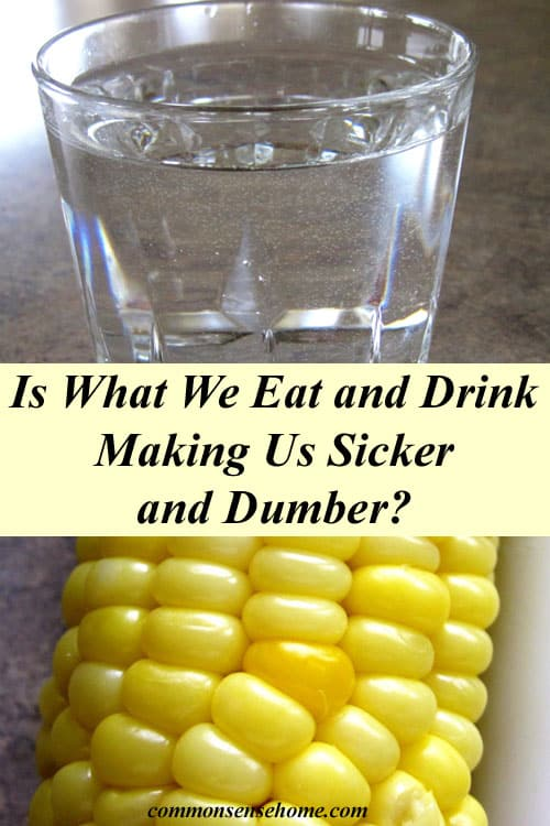 The hidden dangers of GMOs and flouride. Is our food and water making us sicker and dumber?