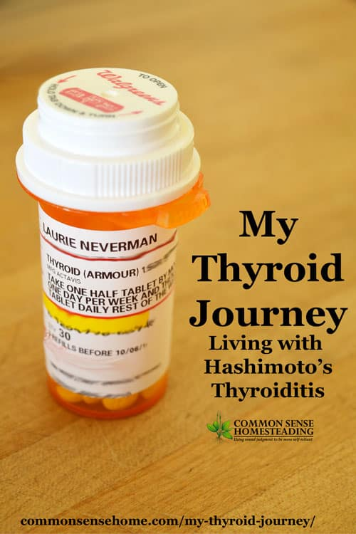 My thyroid journey - How I found out about my thyroid problem (Hashimoto's Thyroiditis with hypothyroidism) and choices I've made to support thyroid health.