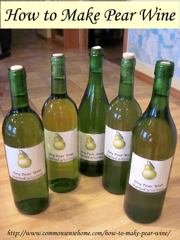 how-to-make-pear-wine
