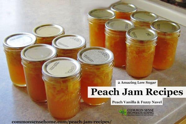 Peach Jam Recipes Peach Vanilla And Fuzzy Navel Easy