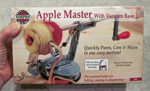 Apple Master peeler corer