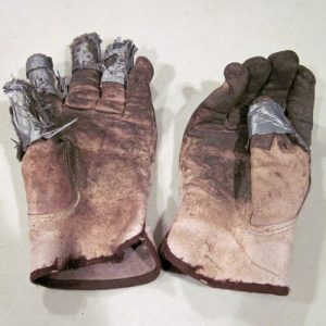 Repaired-garden-gloves