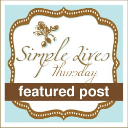 Featured Post at Simple Lives Thursday