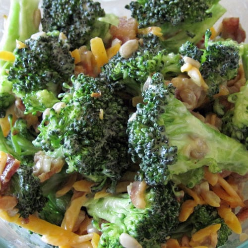 Broccoli Bacon And Cheese Salad Recipe Ready In Minutes