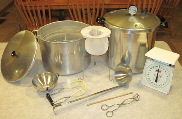 Basic Canning Equipment