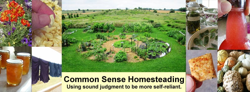 About Common Sense Homesteading