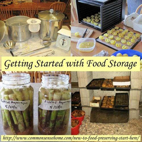 New to Food Preserving - Start Here - comparison of preservation methods, which method is best, home food preservation resources.