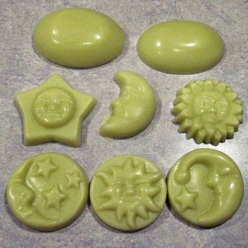 hard lotion bars