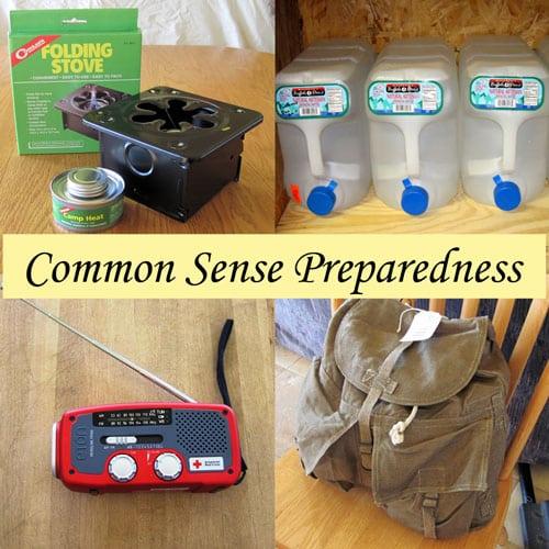 Commmon Sense Preparedness - Over 30 posts to help you prepare for every day emergencies #preparedness