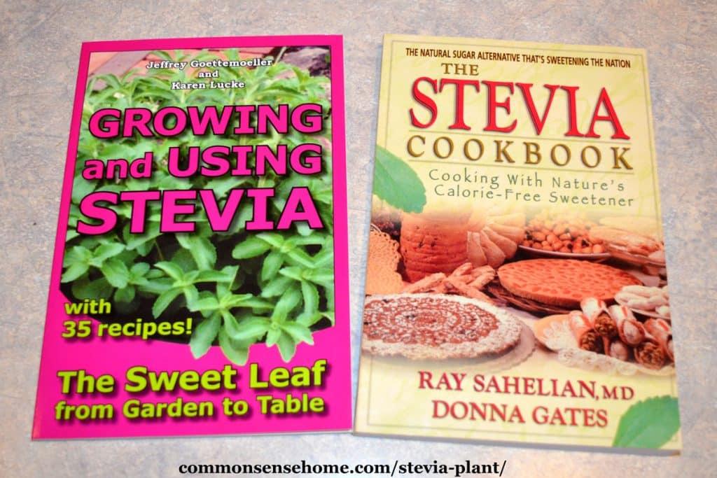 stevia books