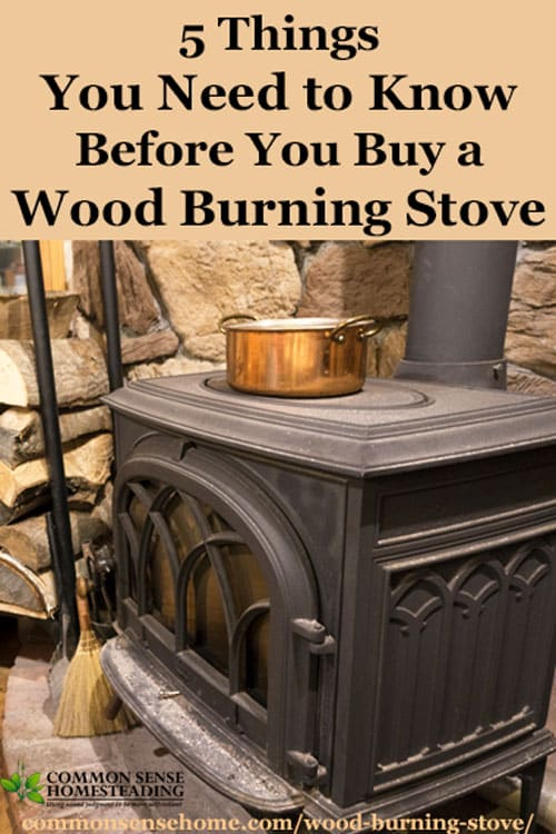 Before you buy a wood burning stove, know the facts about which wood to burn