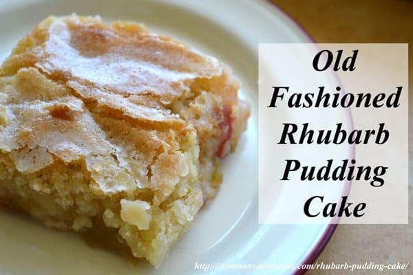 Rhubarb Cake Using Cake Mix