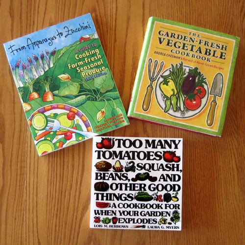 favorite garden cookbooks @ Common Sense Homesteading