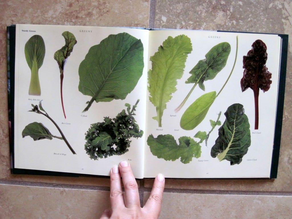 Greens Cookbook interior