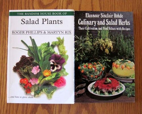 slad plant recipe books