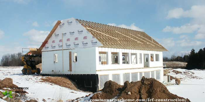 Icf construction what you need to know about an icf home for Icf house