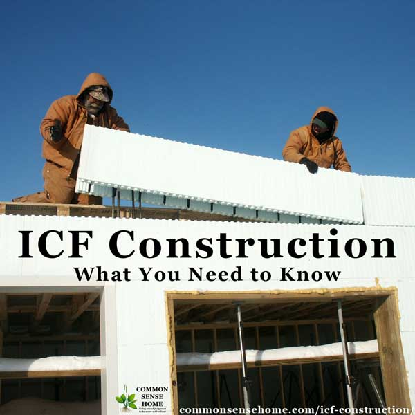 ICF Construction - Placing ICF blocks in home construction