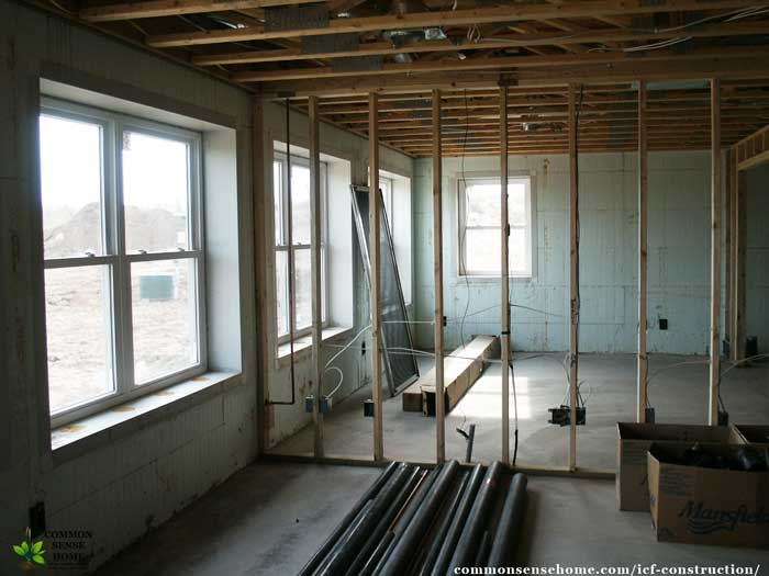 Icf construction what you need to know about an icf home for Icf concrete floors
