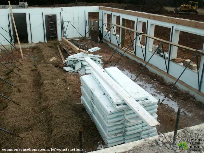 Icf construction what you need to know about an icf home for Basement forms