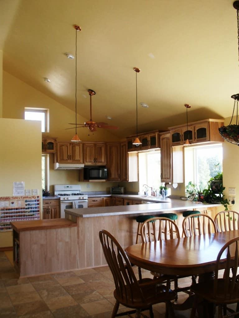 "The ""concrete bunker"" kitchen @ Common Sense Homesteading"