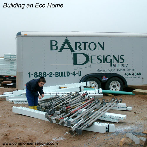 Building an Eco Home, part 2 @ Common Sense Home