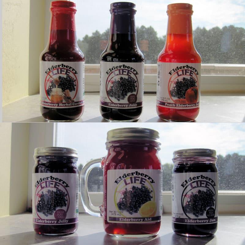 Elderberry Life Products @ Common Sense Homesteading