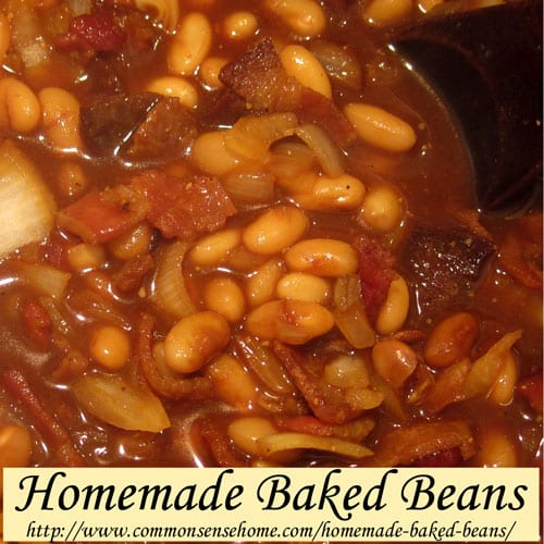 and homemade cider baked beans homemade with mess baked cider ...