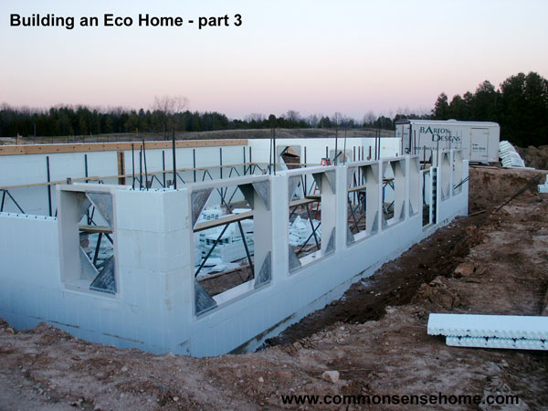 Building an Eco Home - part 3 @ Common Sense Homesteading