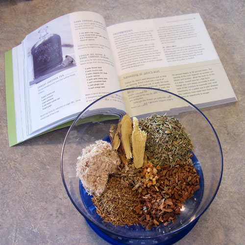 Cold and Cough Care Herbal Recipes @ Common Sense Homesteading