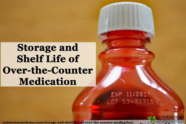 Car Maintenance Checklist >> Storage and Shelf Life of Over-the-Counter Medication