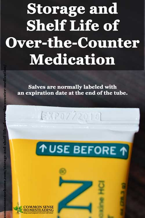 Storage and Shelf Life of Over-the-Counter Medication - How to correctly store medication, which medications should not be taken past their expiration date.