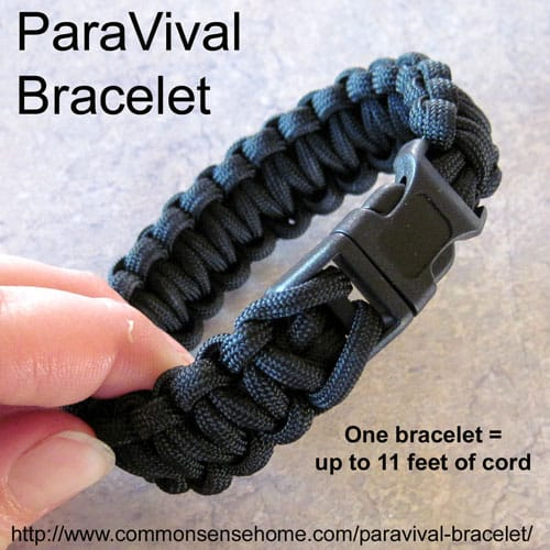 ParaVival Bracelet Review @ Common Sense Homesteading