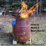 How to Make a Burn Barrel @ Common Sense Homesteading