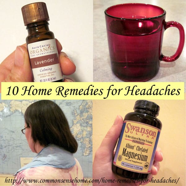 Best Home Remedies for Headaches - What causes headaches and migraines? 10 ways to cure headache pain naturally with items from your home and pantry.