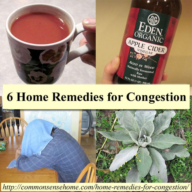 Try these easy to use home remedies for congestion to relieve your stuffy nose and sinus pressure so you can breathe. Natural decongestant options.